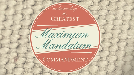 The Greatest Commandment (2)